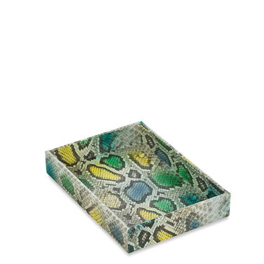 Small Trinket Tray Turquoise Del Rio Front