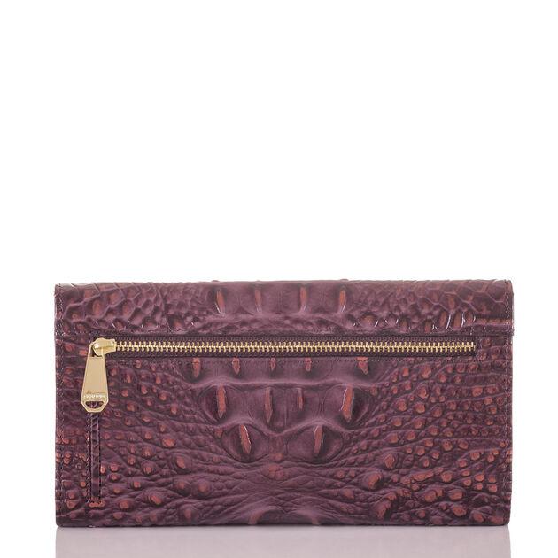 Soft Checkbook Wallet Fig Melbourne