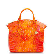 Large Duxbury Satchel Spicy Orange Melbourne