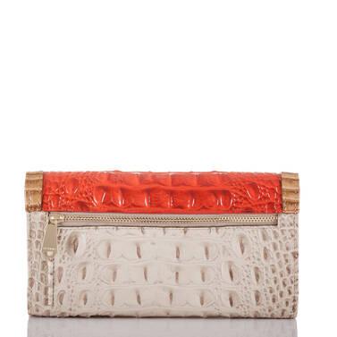 Soft Checkbook Wallet Amaryllis Cotinga Back