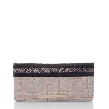 Ady Wallet Warm Gray Holzer Front