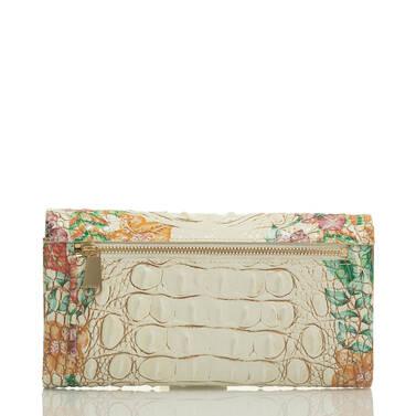 Modern Checkbook Wallet Ivory Tahiti Back