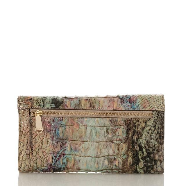 Soft Checkbook Wallet Opal Melbourne, Opal, hi-res
