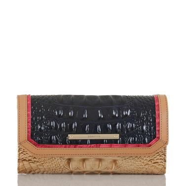 Soft Checkbook Wallet Ink Avondale Front