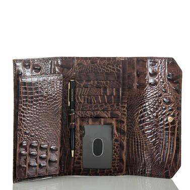Soft Checkbook Wallet Multi Crescendo Interior