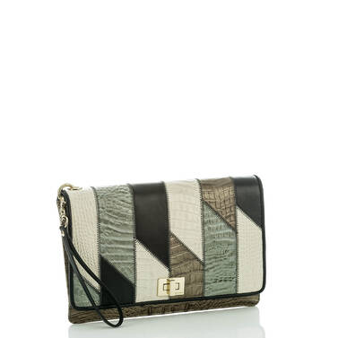 Lily Pouch Silver Sage Caspian Side