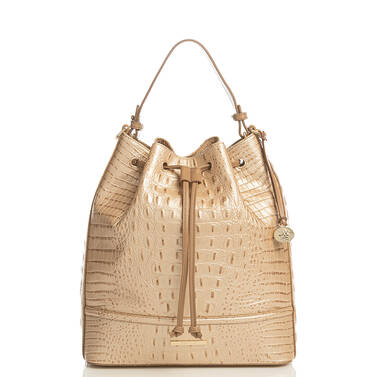 Marlowe Champagne Augustine Front Brahmin Exclusive