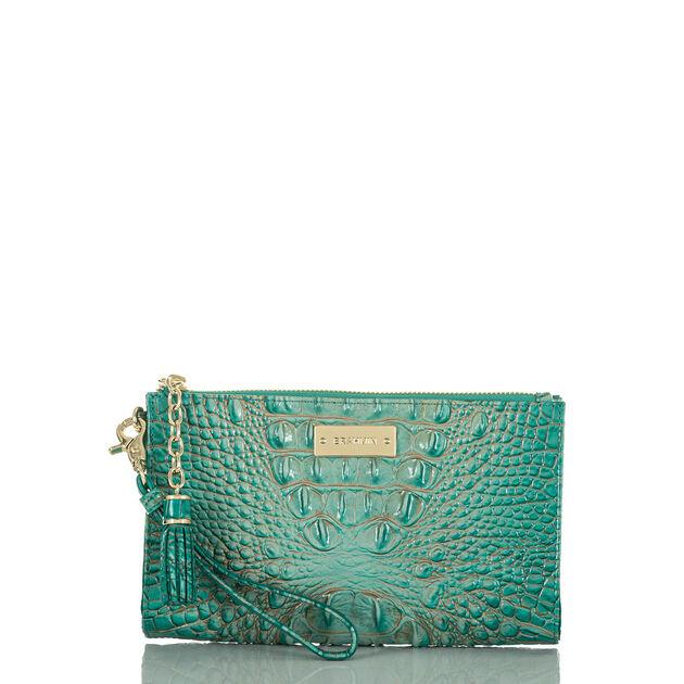 Millie Wristlet Turquoise Melbourne, Turquoise, hi-res