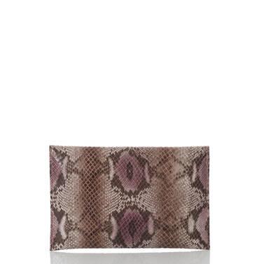 Envelope Clutch Violet Hibiscus Back
