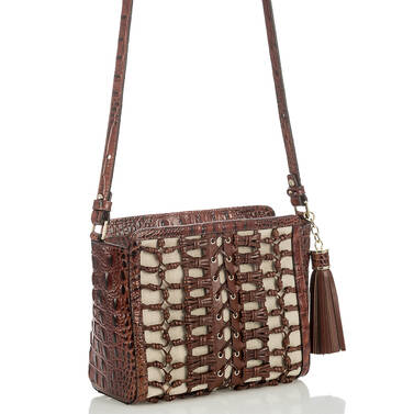 Carrie Crossbody Pecan Paseo Side