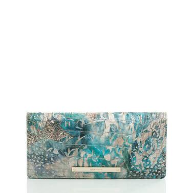 Ady Wallet Blue Lace Melbourne Front