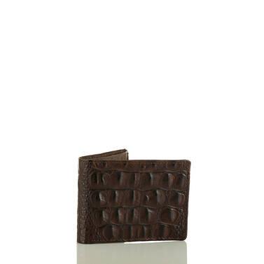 Billfold Cocoa Brown Vintage Melbourne Side