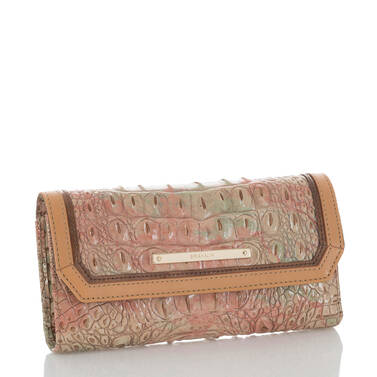 Soft Checkbook Wallet Sahara Amal Side