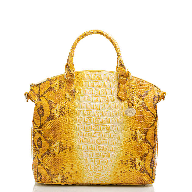 Large Duxbury Satchel Canary Ombre Melbourne, Canary, hi-res