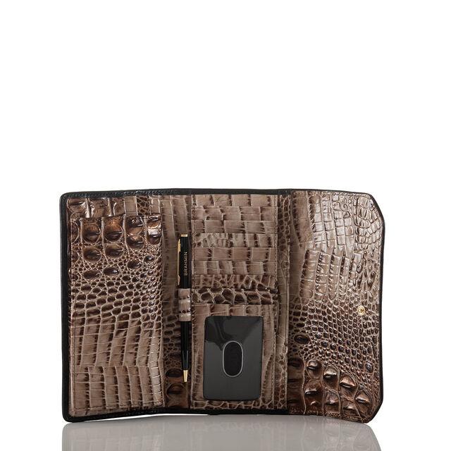 Soft Checkbook Wallet Bark Mitford, Bark, hi-res