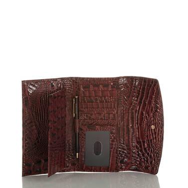 Modern Checkbook Wallet Moonscape Portia Interior