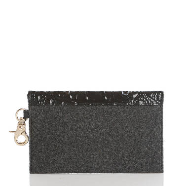 Mini Envelope Case Charcoal Jamestown Back