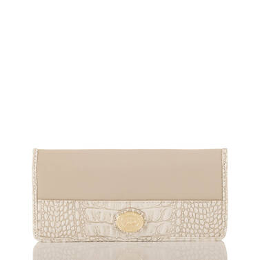 Ady Wallet Taupe Quincy Front