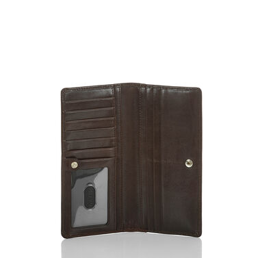 Ady Wallet Cordovan Redwood Front