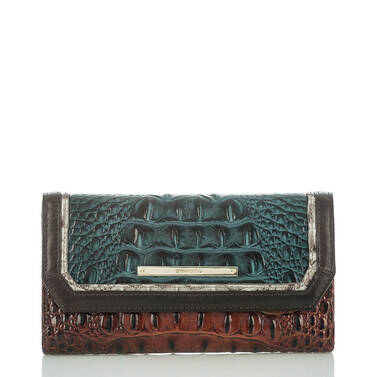 Soft Checkbook Wallet Ivy Figaro Front