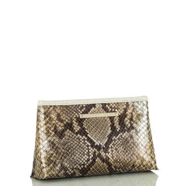 Marney Pouch Gold Sumatra Side