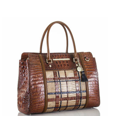 Finley Carryall Pecan Canterbury Side