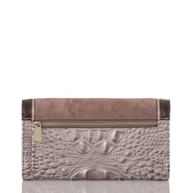 Soft Checkbook Wallet Chardonnay Clermont Back