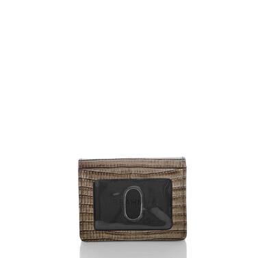 Mini Key Wallet Sable Fashion Lizard Back