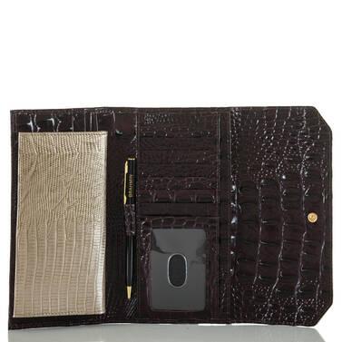 Soft Checkbook Wallet Sterling Kapoor Interior