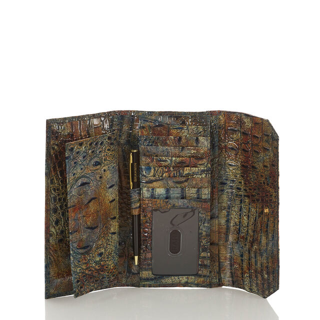 Soft Checkbook Wallet Cedar Melbourne, Cedar, hi-res