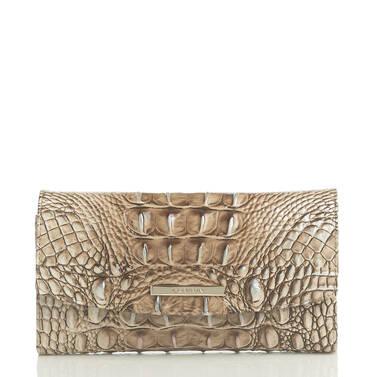 Modern Checkbook Wallet Biscuit Melbourne Front