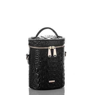 Brynn Barrel Bag Black Melbourne Side