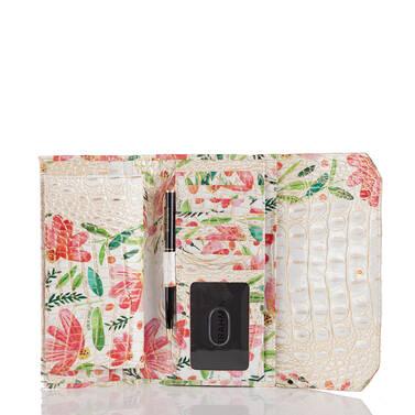 Soft Checkbook Wallet Multi Herring Interior