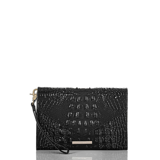 Sara Clutch Black Melbourne, Black, hi-res