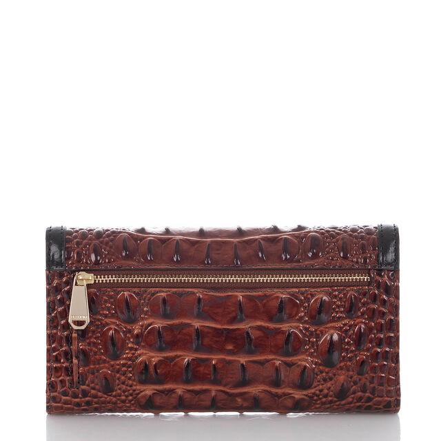 Soft Checkbook Wallet Pecan Fitzgerald, Pecan, hi-res