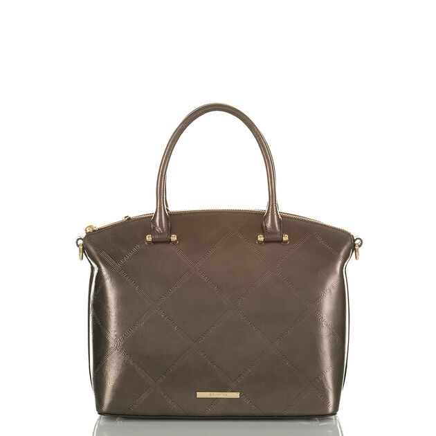 Duxbury Satchel Bronze Vetiver, Bronze, hi-res
