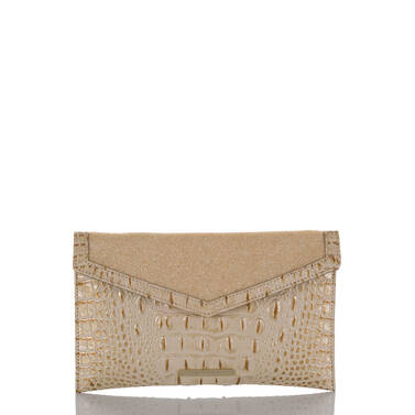 Envelope Clutch Satin Golightly Front