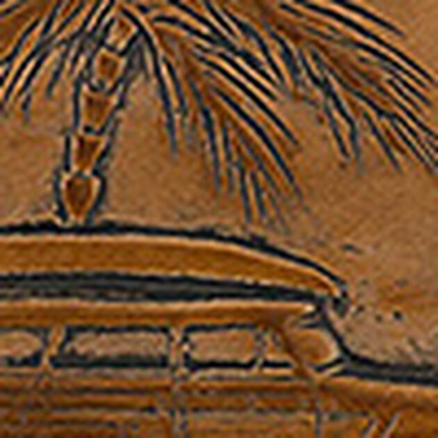 Duxbury Satchel Tan Copa Cabana