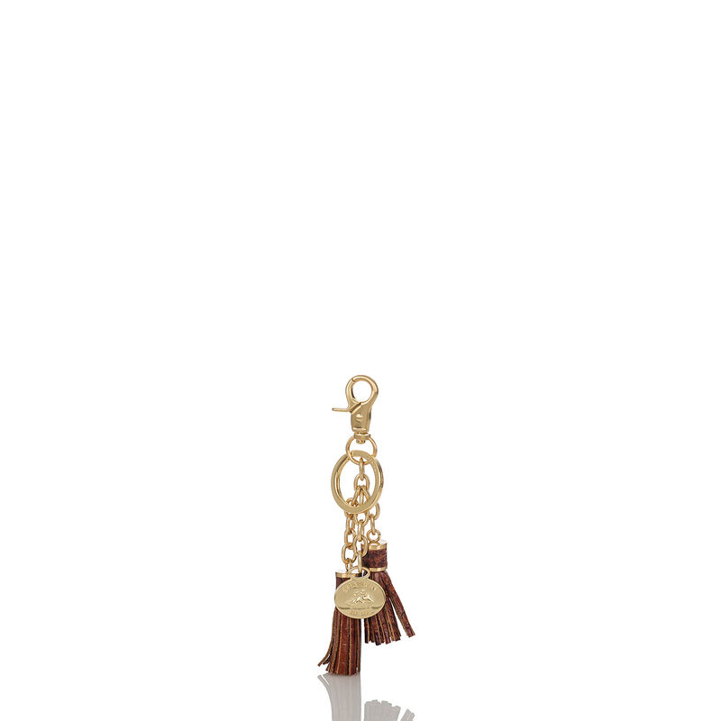 Tassel Key Ring Pecan Melbourne