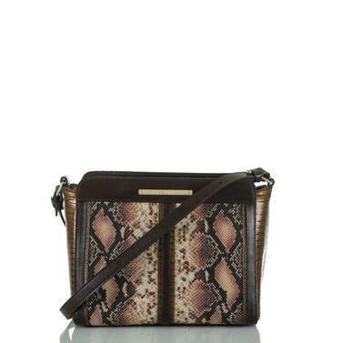 Carrie Crossbody Pink Ellora Front