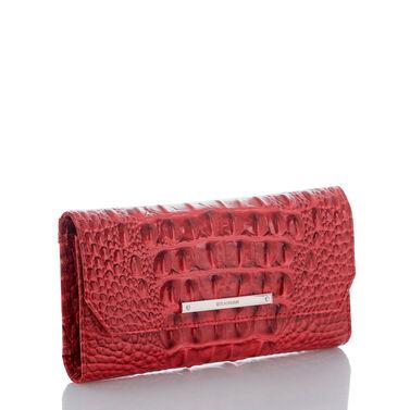 Soft Checkbook Wallet Carnation Melbourne Front