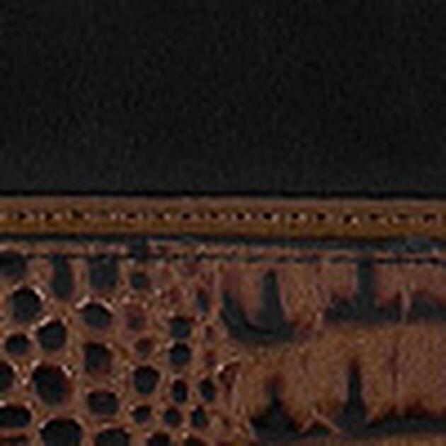 Duxbury Satchel Black Tuscan Tri-Texture