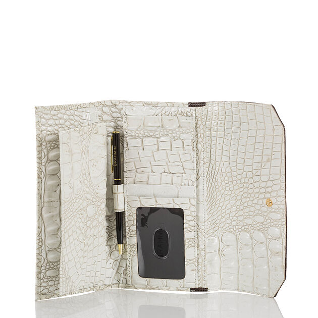 Soft Checkbook Wallet Coconut Kedima