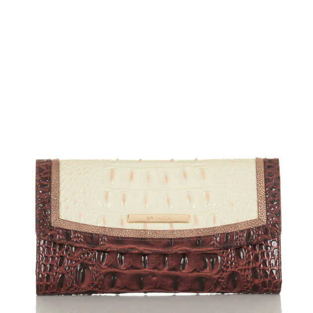 Modern Checkbook Wallet Crystal Dashwood, Crystal, hi-res
