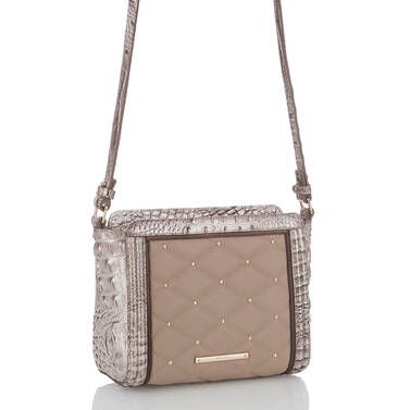 Carrie Crossbody Beige Lamballe Side