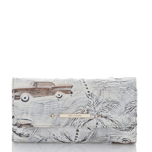 Soft Checkbook Wallet Ivory Copa Cabana, Ivory, hi-res