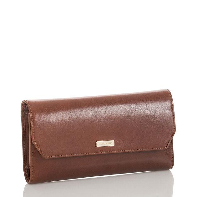 Soft Checkbook Wallet Cognac Topsail