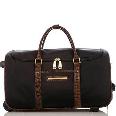 CarryOn Wheeled Duffle Black Travel Front