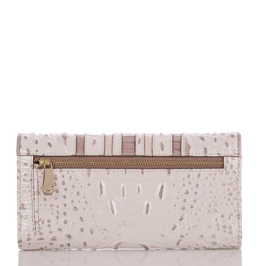 Soft Checkbook Wallet Toasted Macaroon Orleans Back