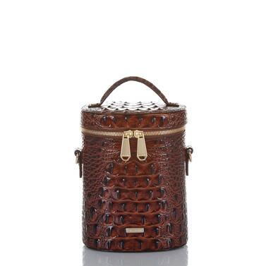 Brynn Barrel Bag Pecan Melbourne Front
